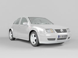 Volkswagen City Jetta 3d preview
