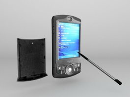 Dopod P802 Windows Mobile Pocket PC PDA 3d preview