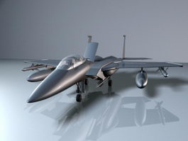 F15 Fighter Aircraft 3d preview