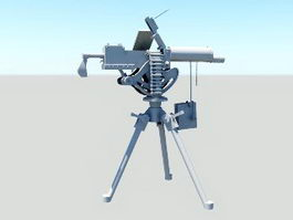Maxim Machine Gun 3d preview