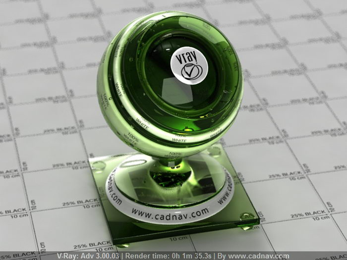 Glass Beer Bottle material rendering