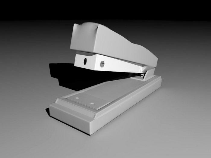 Office Stapler 3d rendering