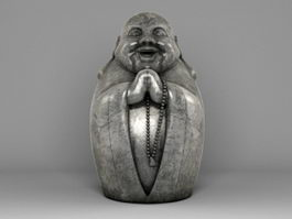 Figure of Buddha 3d preview