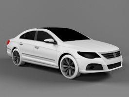 Volkswagen Passat CC 3d preview