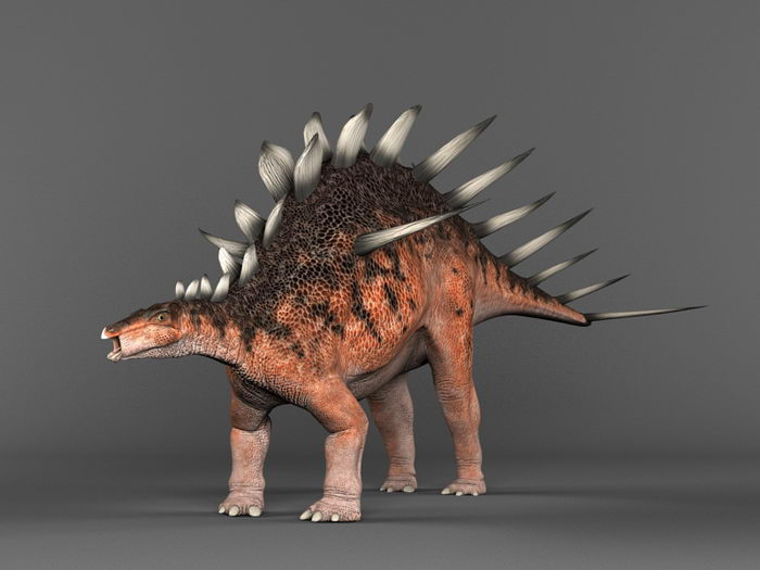 Kentrosaurus Dinosaur 3d rendering