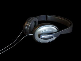 Audio Headphone 3d preview
