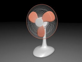 Electric Table Fan 3d preview