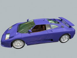 Bugatti EB 110 Super Sport 3d preview