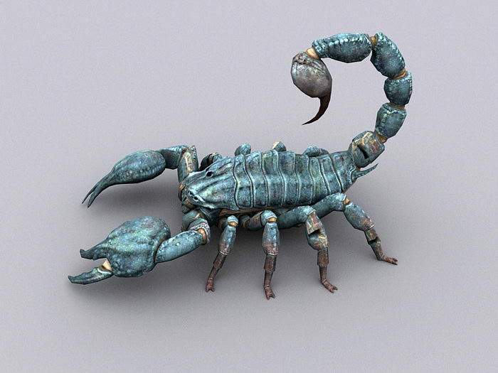 Fallout 3 Radscorpion 3d rendering
