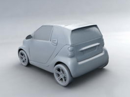 Small Smart Car 3d preview