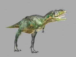 Animated Dacosaurus 3d preview