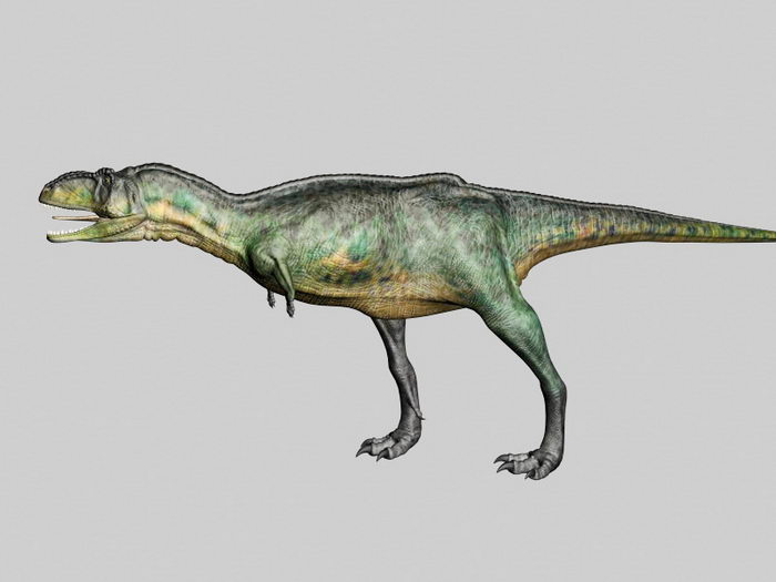 Animated Dacosaurus 3d rendering