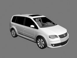 Volkswagen Touran Compact MPV 3d preview