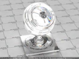 Swarovski Crystal Jewelry vray material