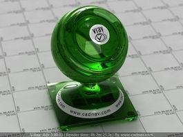 Green Melon Liqueur vray material