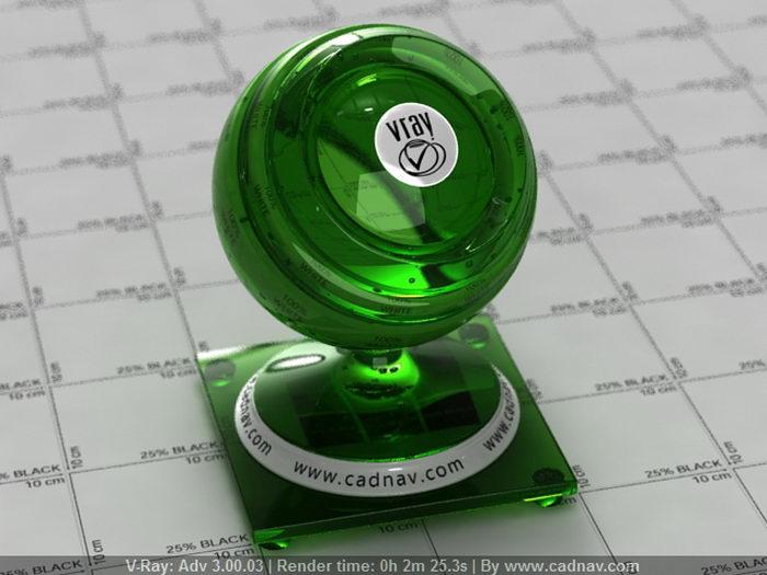 Green Melon Liqueur material rendering