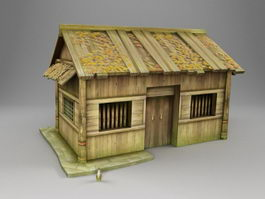 China Traditional Chinese House 3d preview