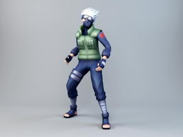 Kakashi Hatake 3d preview