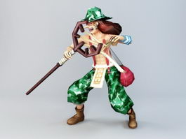 One Piece Usopp 3d preview