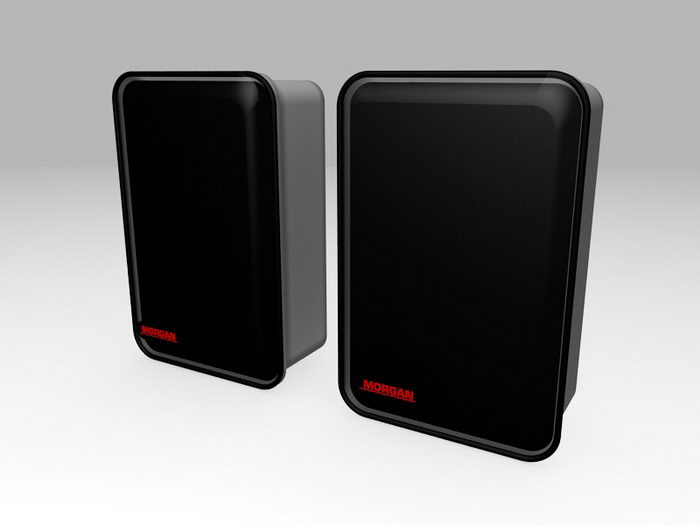 Small Loudspeakers 3d rendering