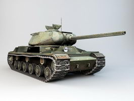 IS-1 Soviet Heavy Tank 3d preview