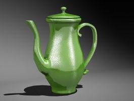 Vintage Teapot 3d preview