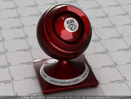 Black Cherry Red Car Paint vray material
