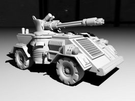 Robotic Combat Vehicle 3d preview