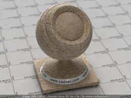 Wheat Bread vray material