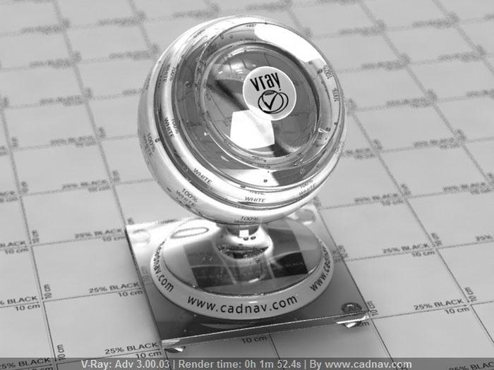 Tumbler Glass material rendering