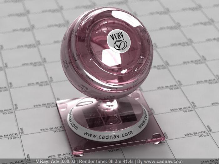 Raspberry Juice material rendering
