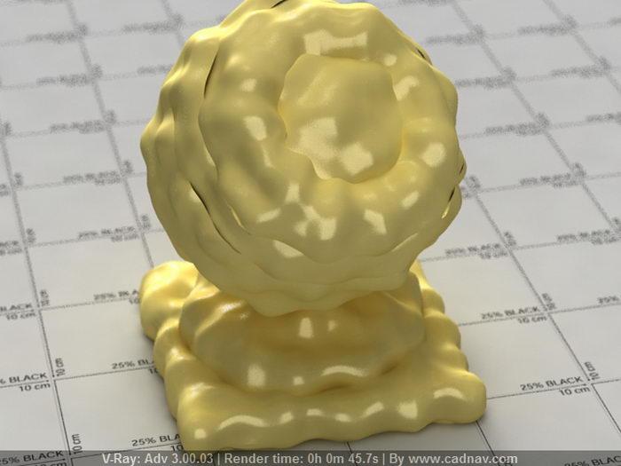 Egg Mayonnaise material rendering