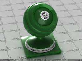 Imperial Jade vray material