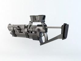 Future Combat Rifle 3d preview