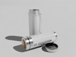 Stainless Steel Water Bottle 3d preview