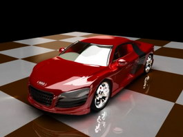 Audi R8 Automobile 3d preview