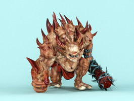 Enraged Cyclops 3d preview