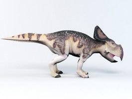 Protoceratops Ceratopsia Dinosaur Rig 3d preview