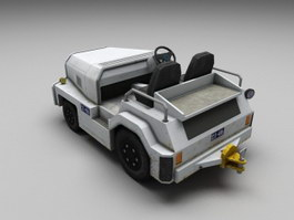Tow Tractor 3d preview