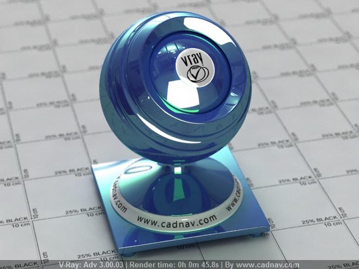 Greenish Blue Car Custom Paint material rendering