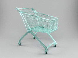 A Shopping Cart 3d preview
