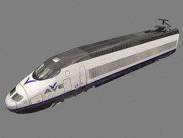 AVE High Speed Train 3d preview