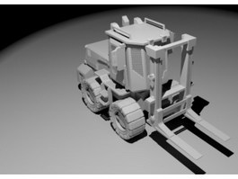 Container Forklift 3d preview