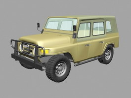 Beijing BJ212 Jeep SUV 3d preview