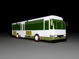 Public Transit Bus 3d preview