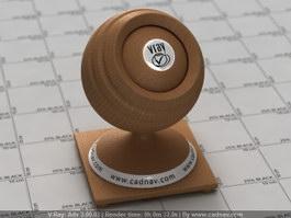 Corrugated Fiberboard vray material