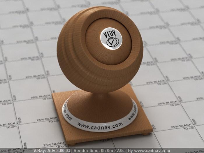 Corrugated Fiberboard material rendering