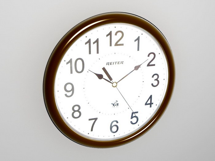 Retro Wall Clock 3d rendering
