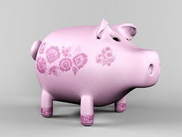 Clay Pig Sculpture 3d preview