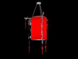 Oriental Lantern 3d preview